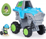 Set de joaca Rex Deluxe Vehicle Patrula Catelusilor Dino Rescue