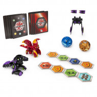 Set de joaca Trox Ultra vs Pegatrix Ultra Baku-Gear 4 Pack Bakugan Armored Alliance