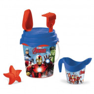 Set jucarii pentru nisip Avengers 6 piese Mondo Toys