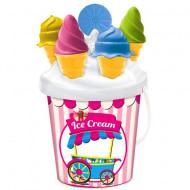 Set jucarii pentru nisip Ice Cream 7 piese