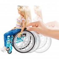 Set Papusa Barbie in scaun cu rotile Barbie Fashionistas