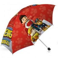 Umbrela pliabila automata Patrula Catelusilor 70 cm