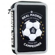 Penar 3D dublu echipat FC Real Madrid negru