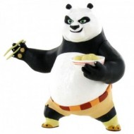 Figurina Po mancand Kung Fu Panda