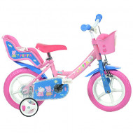 Bicicleta copii Purcelusa Peppa 12""