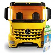 Camion galben Mercedes-Benz Arocs Lena 67 cm