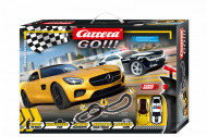 Circuit electric masinute Mercedes AMG si 2015 Chevrolet Camaro Highway Action Carrera Go 5,4 m