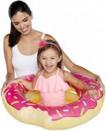 Colac gonflabil pentru copii Gogoasa roz