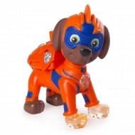Figurina articulata cu lumini Zuma Mighty Pups Patrula Catelusilor
