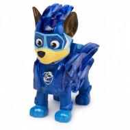 Figurina cu lumini Chase Patrula Catelusilor Mighty Pups Charged Up