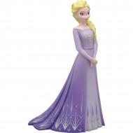Figurina Elsa in rochie mov Frozen Bullyland