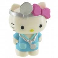 Figurina Hello Kitty doctor