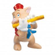 Figurina Purcelus Flautist Cei Trei Purcelusi Bullyland