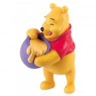 Figurina Winnie the Pooh si borcanul de miere Bullyland