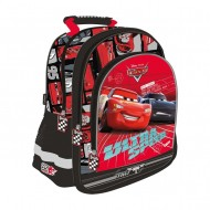 Ghiozdan ergonomic Cars 3 Ultra Speed cu 3 compartimente 38 cm
