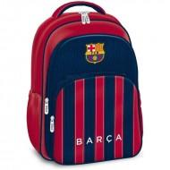 Ghiozdan ergonomic laptop FC Barcelona cu 3 compartimente 45 cm