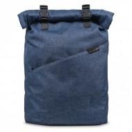 Ghiozdan rucsac laptop Ars Una Urban AU-10 gri-albastrui 42 cm
