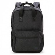 Ghiozdan rucsac laptop Ars Una Urban AU-8 negru 42 cm