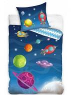 Lenjerie pat 2 piese 135x200 Planet Dream NL195025-4