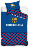 Lenjerie pat FC Barcelona 160x200 cm FCB195003