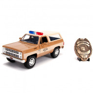 Masinuta metalica Chevy Blazer Stranger Things Hollywood Rides 21 cm