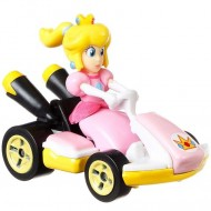 Masinuta metalica Peach Mariokart Hot Wheels