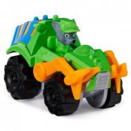 Masinuta metalica Rocky Patrula Catelusilor Dino Rescue
