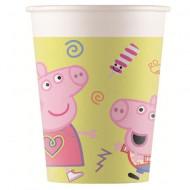 Pahare de hartie pentru petrecere Peppa Pig