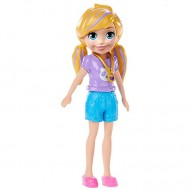 Papusa Polly in pantaloni si bluza Polly Pocket