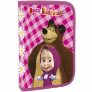 Penar echipat cu parti pliabile Masha and the Bear