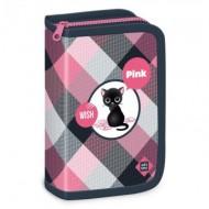 Penar neechipat cu parti pliabile Think Pink negru