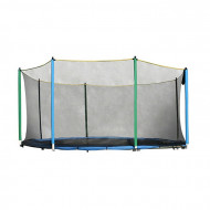 Plasa siguranta trambulina inSPORTline 366 cm pentru 8 stalpi, 4 picioare