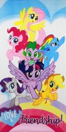 Prosop bumbac My Little Pony 140x70 cm 821-472-R