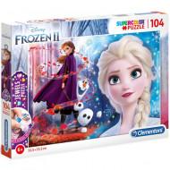 Puzzle Jewels Frozen 2 Clementoni 104 piese