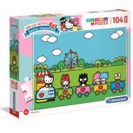 Puzzle Maxi Hello Kitty Clementoni 104 piese