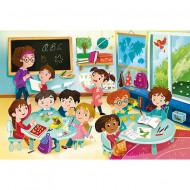 Puzzle Sala de clasa Clementoni 104 piese