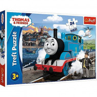 Puzzle Maxi Thomas si Prietenii Trefl 24 piese