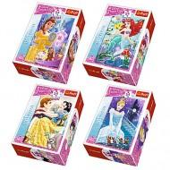 Puzzle mini Printesele Disney 54 piese