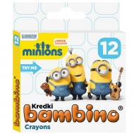 Set 12 creioane cerate Minions