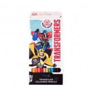 Set 12 creioane colorate Transformers