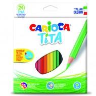Set 24 creioane colorate Tita