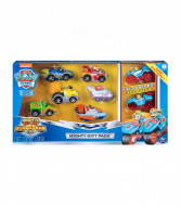 Set 8 masinute metalice Mighty Gift Pack Patrula Catelusilor