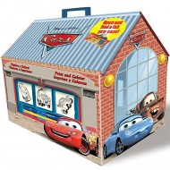 Set creativ de stampile in cutie Cars