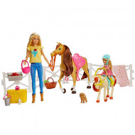 Set de joacă Hugs 'N Horses Barbie