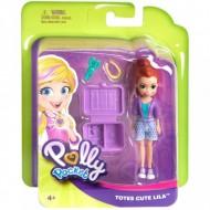 Set de joaca Lila Totes Cute Polly Pocket