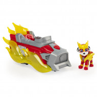 Set de joaca Marshall Deluxe Vehicle Patrula Catelusilor Mighty Pups Charged Up
