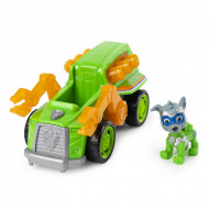 Set de joaca Rocky Deluxe Vehicle Patrula Catelusilor Mighty Pups