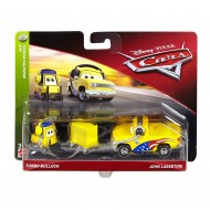 Set de masinute metalice Turbo Bullock si John Lassetire Cars