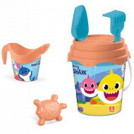 Set jucarii pentru nisip Baby Shark 6 piese Mondo Toys