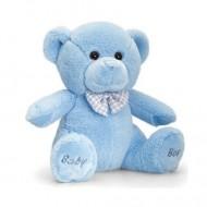 Ursulet de plus Baby Boy Keel Toys 20 cm